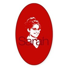 Sarah 2008 Oval Decal