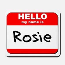 Hello my name is Rosie Mousepad