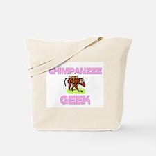 Chimpanzee Geek Tote Bag