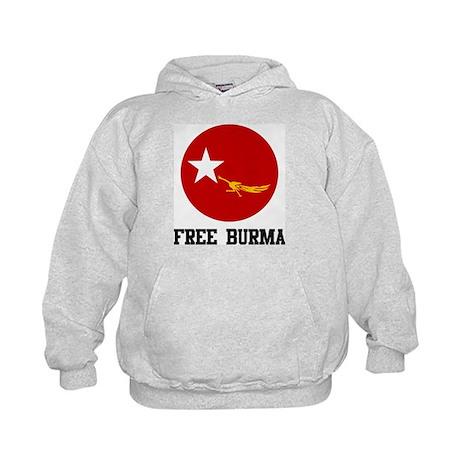 Free Burma Kids Hoodie