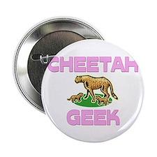 """Cheetah Geek 2.25"""" Button"""