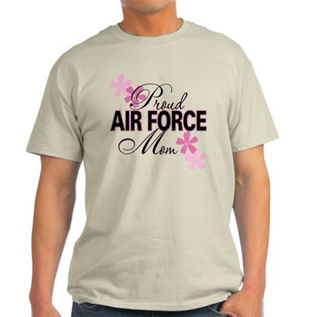 Proud Air Force Mom Light T-Shirt