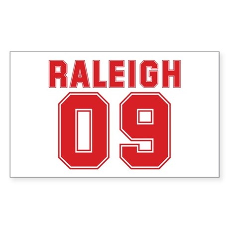 RALEIGH 09 Rectangle Sticker 50 pk)