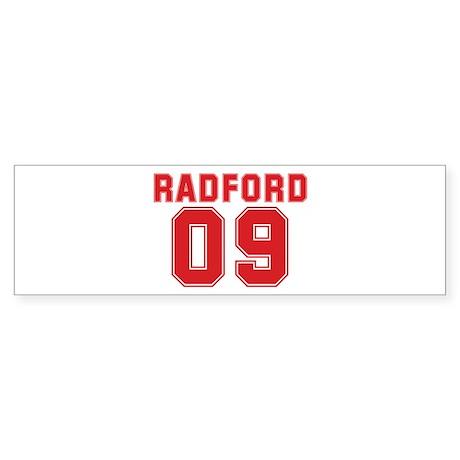 RADFORD 09 Bumper Sticker (50 pk)