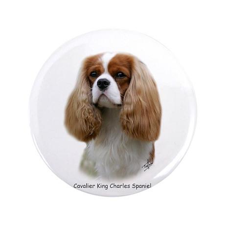 """Cavalier King Charles Spaniel 3.5"""" Button (100 pac"""