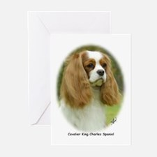Cavalier King Charles Spaniel 9F98D-19 Greeting Ca
