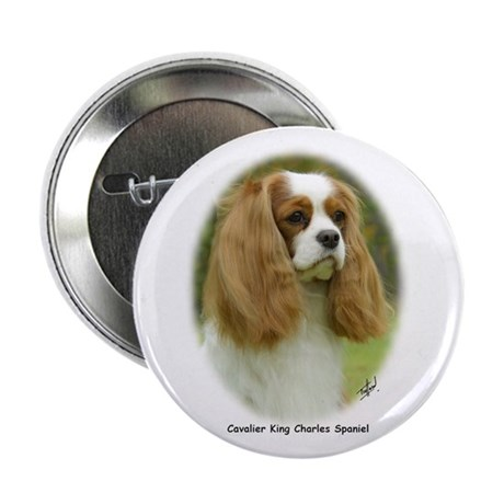 """Cavalier King Charles Spaniel 9F98D-19 2.25"""" Butto"""