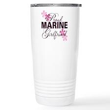 Proud Marine Girlfriend Travel Mug