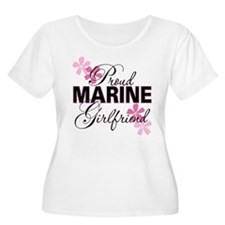 Proud Marine Girlfriend T-Shirt