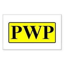 PWP Rectangle Decal