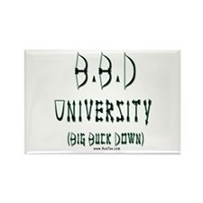 BBD University Rectangle Magnet