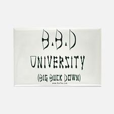BBD University Rectangle Magnet