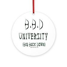 BBD University Ornament (Round)