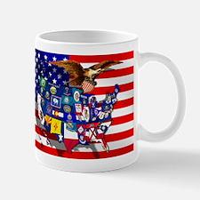USA State Flags Mug