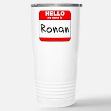 Hello my name is Ronan Travel Mug