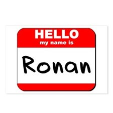 Hello my name is Ronan Postcards (Package of 8)