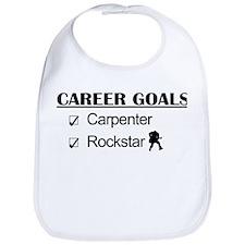 Carpenter Career Goals - Rockstar Bib
