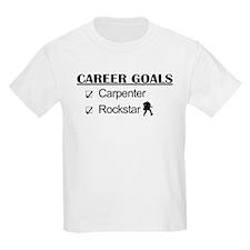 Carpenter Career Goals - Rockstar T-Shirt