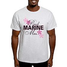 Proud Marine Mom T-Shirt