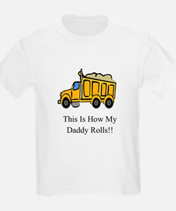 Dump Truck This Is How My Dad T-Shirt