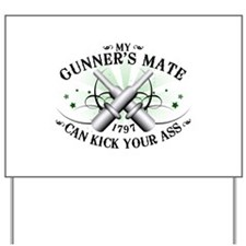 My Gunner's Mate Yard Sign