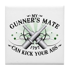 My Gunner's Mate Tile Coaster