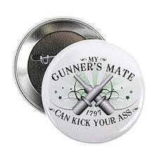 """My Gunner's Mate 2.25"""" Button"""