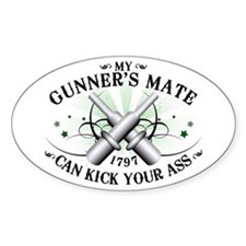 My Gunner's Mate Oval Decal