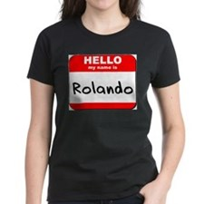 Hello my name is Rolando Tee
