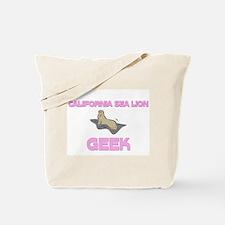 California Sea Lion Geek Tote Bag