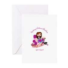 Unique Knitters Greeting Cards (Pk of 10)