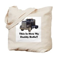 Semi Truck This Is How My Dad Tote Bag