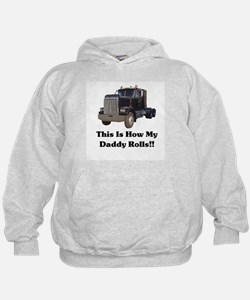 Semi Truck This Is How My Dad Hoodie