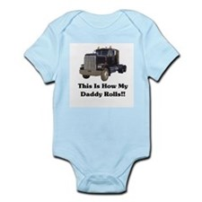 Semi Truck This Is How My Dad Onesie