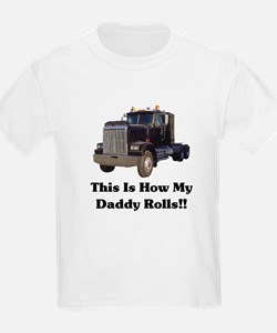 Semi Truck This Is How My Dad T-Shirt