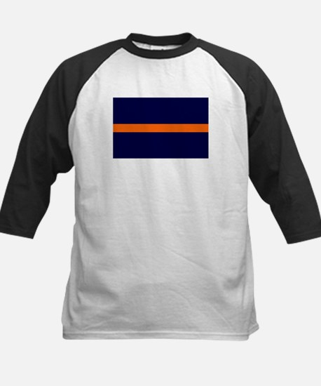 Auburn Thin Orange Line Kids Baseball Jersey