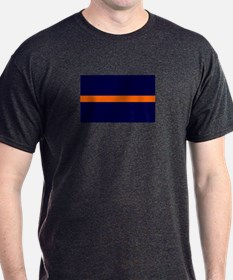 Auburn Thin Orange Line T-Shirt