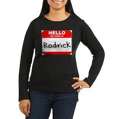Hello my name is Rodrick T-Shirt