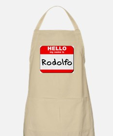 Hello my name is Rodolfo BBQ Apron