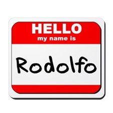 Hello my name is Rodolfo Mousepad