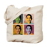 Mao obama bags Canvas Totes