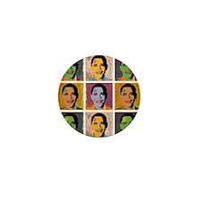 Obama Mao Mini Button