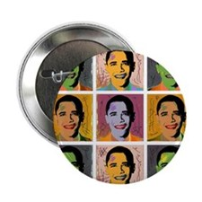 "Obama Mao 2.25"" Button (100 pack)"