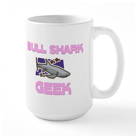 Bull Shark Geek Large Mug