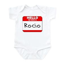 Hello my name is Rocio Infant Bodysuit