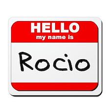 Hello my name is Rocio Mousepad
