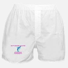 Bottlenose Dolphin Geek Boxer Shorts