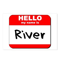 Hello my name is River Postcards (Package of 8)