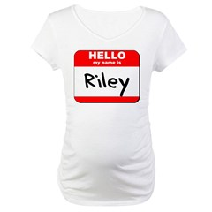 Hello my name is Riley Shirt