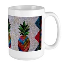 Trudy's Pineapple Ceramic Mugs